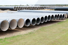 Big industrial pipes Stock Image
