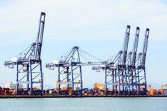 Big Industrial Port Stock Photos