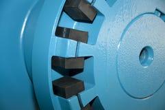 Big industrial vacuum pumps - detail Stock Photography