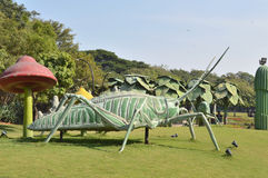 Big insect statue at NTR garden, Hyderabad Stock Photo