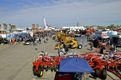 Big Iron Agricultural Farm Expo stock image