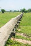 Big irrigation pipe Royalty Free Stock Photos