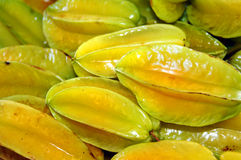 Big Island Fresh Star Fruit Royalty Free Stock Photo