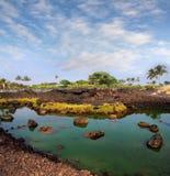 Big Island, Hawaii. A national park on Big Island, Hawaii Stock Photos
