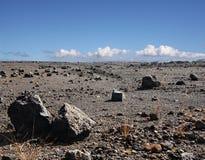 Big island, Hawaii. Old lava field on Big island, Hawaii Stock Photos