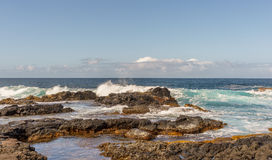 Big Island Hawaii surf Stock Photos