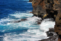 Big Island Rugged Coast Royalty Free Stock Photo