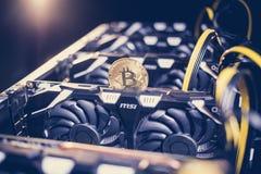 Free Big IT Machine With Fans. Bitcoin Mining Farm Royalty Free Stock Photo - 106409015
