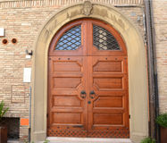 Big Italian door Stock Photos