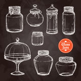 Big Jar Set Stock Images
