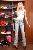 Big jeans Stock Images