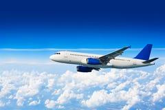 Big jet airplane Stock Images