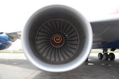 Big jet engine Royalty Free Stock Photography