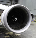 Big jet engine Stock Images