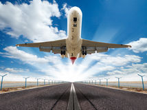 Big jet plane Royalty Free Stock Photo