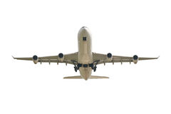 Big jet plane taking off Royalty Free Stock Image