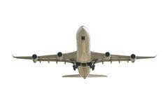 Big jet plane taking off Royalty Free Stock Image