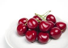 Big juicy ripe cherry Stock Photo