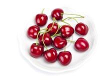 Big juicy ripe cherry Stock Image