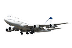 Big jumbo plane Royalty Free Stock Photos