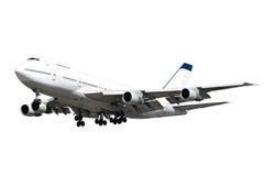 Big jumbo plane Royalty Free Stock Photos