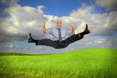 Big jump Royalty Free Stock Photo