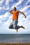 Big jump Stock Images