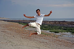 Big jump Royalty Free Stock Images