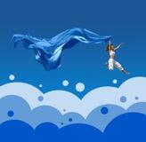 Big Jump Royalty Free Stock Photography