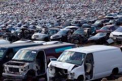 Big junkyard Stock Photo