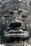 Big khmer face Stock Photography