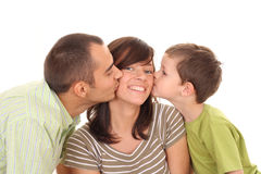 Big kiss Royalty Free Stock Photography
