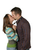 Big Kiss! Royalty Free Stock Images