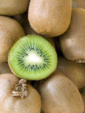 The big kiwis macro Royalty Free Stock Photo