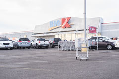 Big Kmart exterior entrance Royalty Free Stock Photography