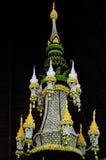 The Big Krathong at Tak Krathong Festival 2015.  royalty free stock image