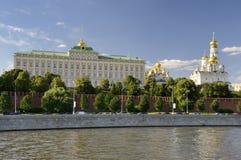 Big Kremlin Palace Stock Photography