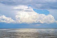 Big lake nature background. Royalty Free Stock Photo