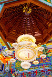Big Lamp. In Chinese temple royalty free stock photos
