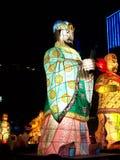 Big lantern. Seen in Seoul, South Korea, for Buddha's birthday parade royalty free stock image