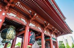 Big lantern at Asakusa Kannon Temple Royalty Free Stock Photo