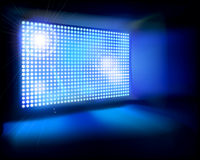 Big LED Screen. Vector illustration. Royalty Free Stock Photos