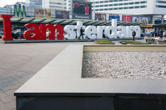 Big amsterdam letters Stock Photo