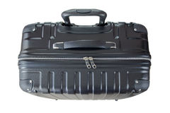 Big lightweight hard shelled suitcase, new and clean luggage in Royalty Free Stock Photos