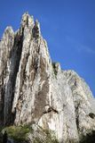 Big limestone ridge Royalty Free Stock Photography