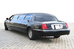 Big limousine Stock Photos