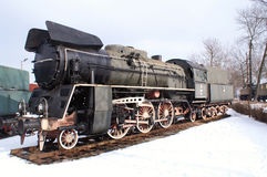 Big locomotive. Try in museum in Chabowka, department of Crakow royalty free stock image