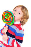 Big lollipop Royalty Free Stock Photography