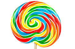 Big lollipop Stock Images