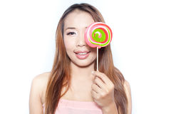 Big lollipop Royalty Free Stock Photos